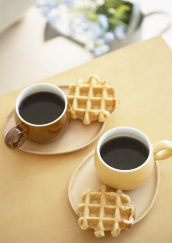 コーヒーワッフル